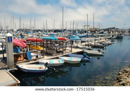 Marina; Monterey Bay, California - stock photo