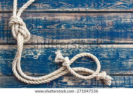 Marine knot - stock photo