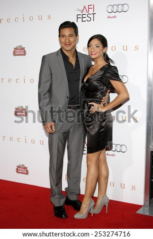 """Mario Lopez at the AFI FEST 2009 Screening of """"Precious"""" held at the Grauman's Chinese Theater in Hollywood, California, United States on November 1, 2009.  - stock photo"""