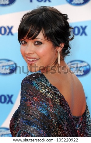 Marisa Ramirez at the 'American Idol' Grand Finale 2009. Nokia Theatre, Los Angeles, CA. 05-20-09