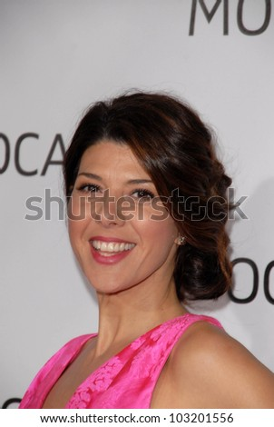 Marisa Tomei  at the MOCA New 30th Anniversary Gala, MOCA Grand Avenue, Los Angeles, CA. 11-14-09