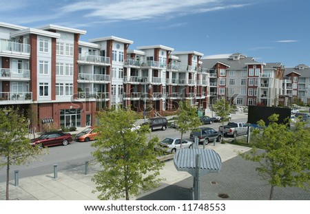 Maritime Inspired Residential Community - stock photo