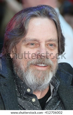 mark hamill attends the European film premiere of 'Captain America: Civil War' at Vue Westfield on April 26, 2016 in London, England