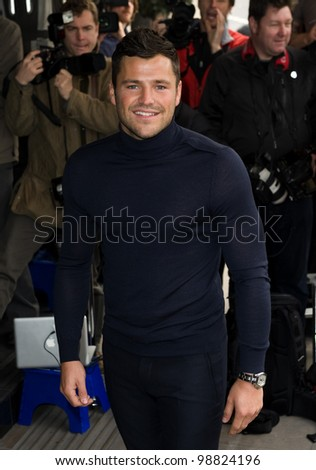 Mark Wright arriving for the TRIC Awards 2012, at the Grosvenor House Hotel, London. 13/03/2012 Picture by: Simon Burchell / Featureflash