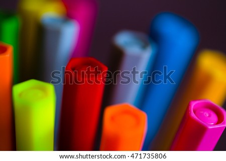 markers background