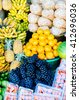 Market fruit, Bali - stock photo
