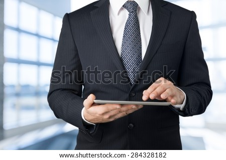 Market, marketing, news. - stock photo