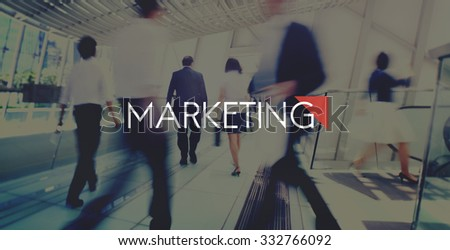 Marketing Business Advertising Commercial Vision Concept - stock photo
