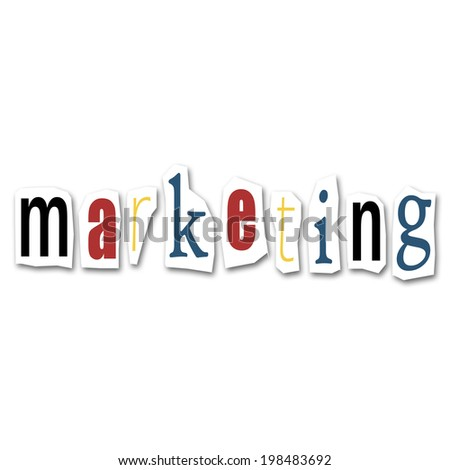 marketing creative collage
