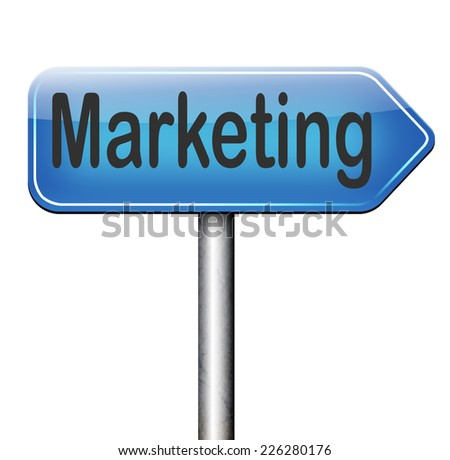 marketing plan and strategy target business market   - stock photo