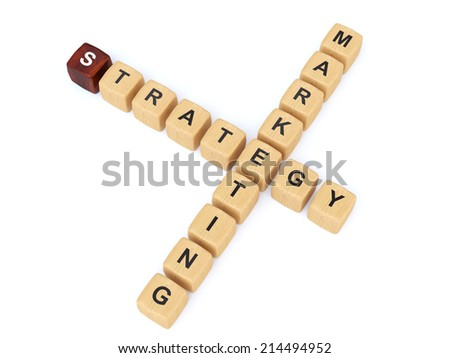 marketing strategy - stock photo