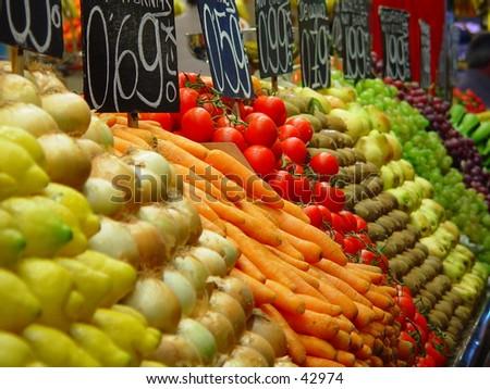marketplace - stock photo