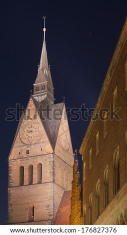 Marktkirche in Hannover, Germany - stock photo