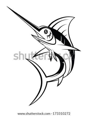 Marlin Fish - stock photo