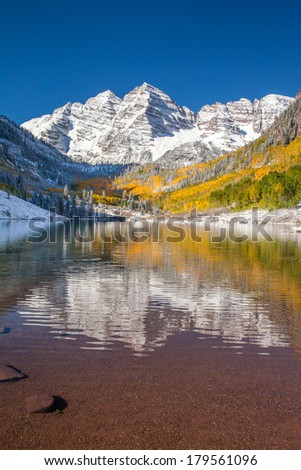 Maroon bells national park Aspen, CO.