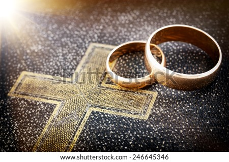 Marriage forever - stock photo