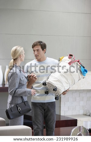 Married Couple Holding Hands - stock photo