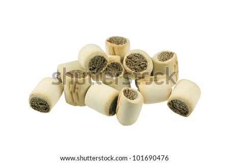 Marrow bone dog treats. - stock photo
