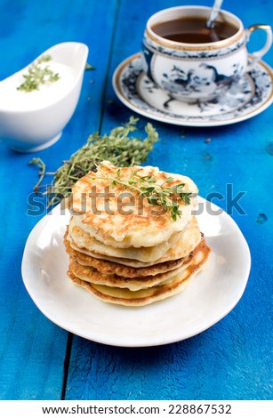 marrow pancakes