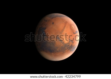 Mars - The red planet - stock photo