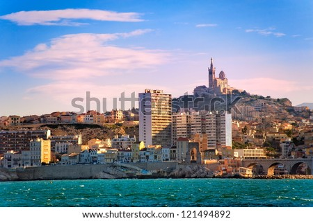 Marseilles, France - stock photo