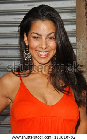"""Marta McGonagle at the Los Angeles premiere """"Balls Of Fury"""". The Egyptian Theatre, Hollywood, CA. 08-25-07 - stock photo"""