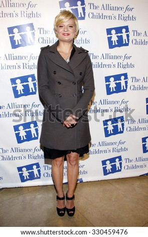 Martha Pimpton at the Alliance for Children's Rights Dinner Honoring Kevin Reilly held at the Beverly Hilton Hotel in Beverly Hills, USA on March 1, 2012. - stock photo
