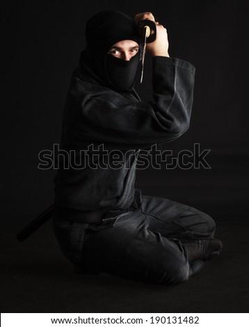 Martial Art, Ninja - stock photo