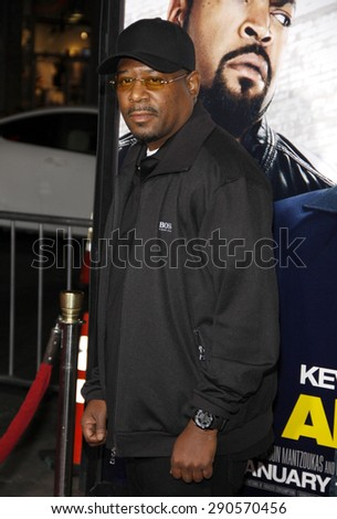 """Martin Lawrence at the Los Angeles premiere of """"Ride Along"""" held at the TCL Chinese Theatre in Los Angeles on January 13, 2014 in Los Angeles, California.  - stock photo"""