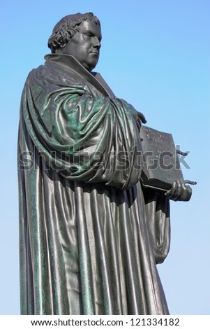 Martin Luther - stock photo