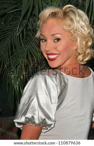 Mary Carey at the premiere of ANNA NICOLE. Fox Studios, Los Angeles, CA. 08-30-07 - stock photo