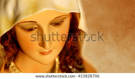 Mary the Mother of Jesus was chosen by God to give birth to the Savior of the World