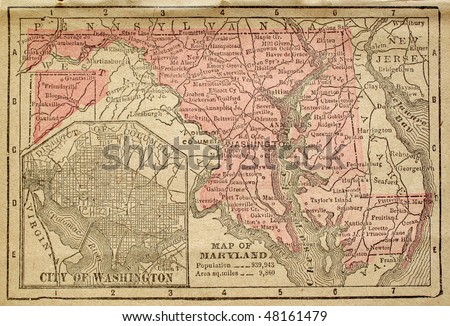 Maryland Map Stock Images RoyaltyFree Images Vectors - Maryland maps