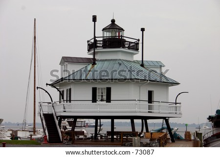 Maryland Lighthouse - stock photo