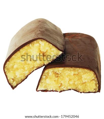 Marzipan almond - stock photo