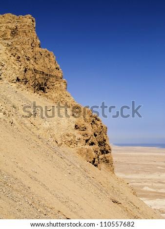Masada, Israel - stock photo
