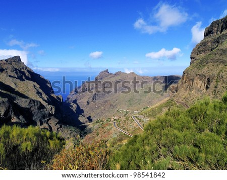 Masca, Tenerife, Canary Islands, Spain