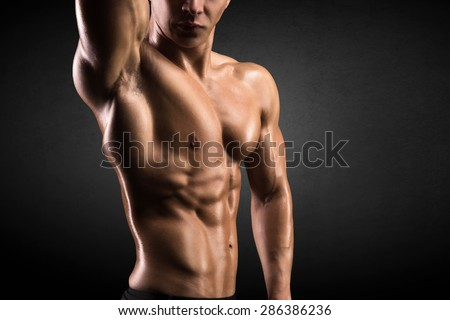 Masculine body building