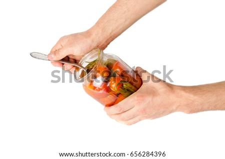 how to draw a glass jar