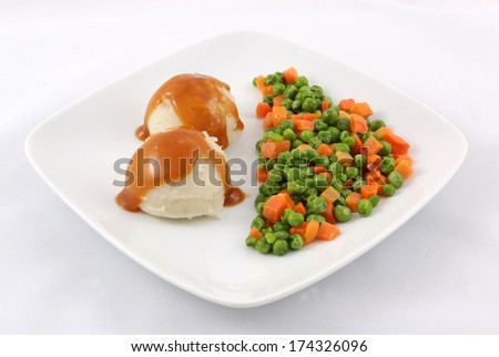 Mashed Potatoes Peas Mashed Potatoes With Peas And