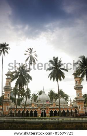 masjid jamek the heritage of malaysia - stock photo