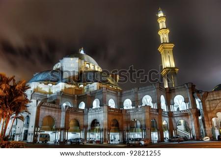 Masjid Wilayah - stock photo