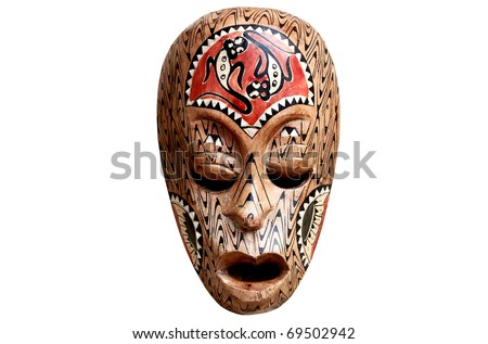 Mask Isolated - stock photo