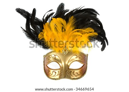 mask isolated on a white background