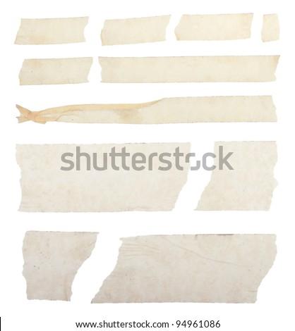 Masking duct tape - stock photo
