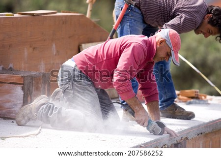 masonry - stock photo