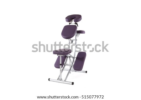 massage chair isolated on white background