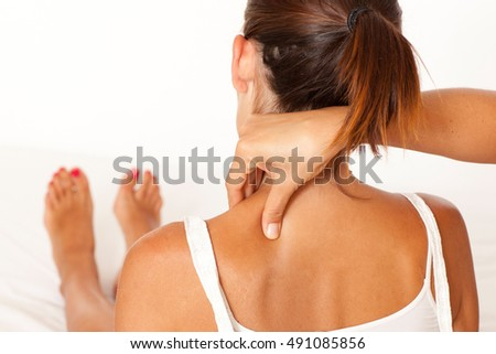 massage of the neck