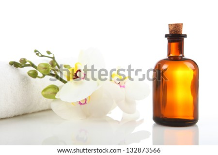 Massage Therapist - Aromatherapy and Massage Oil - stock photo