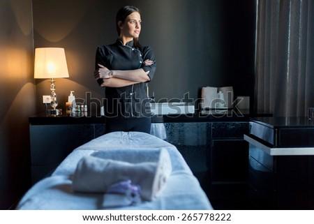 stock photo massage therapy.